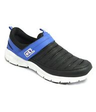 Liberty Brand Mens Black Blue Slipons Casual Sports Shoes RS-016