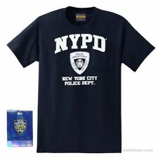 NYPD T-Shirt (Navy) - New York City Police Department Souvenir Travel Gift