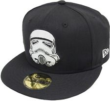 New Era Storm Trooper Cap 59fifty Basic Fitted Limited Edition Star Wars Men New