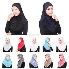 Muslim Women Inner Hijab Headscarf Cap Islamic Full Cover Hat Islamic Underscarf