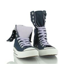 CONVERSE® ALL STAR CHUCKS X-HI CANVAS - Navy-Lavender - Textil - NEU & OVP