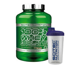 Scitec Nutrition 100% Whey Isolate Eiweiß Protein - 2000g + Shaker