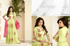 Ladies Designer Suit Fancy Embroidery Work Georgette Party Wear Girls New