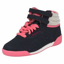 Fille Confortable Engouement Reebok Baskets Montantes