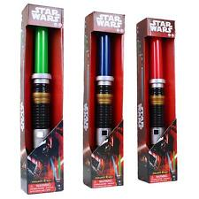 STAR WARS ALLUNGABILE SPADA LASER + LUCI E EFFETTI SONORI - LIGHT SCIABOLA UK