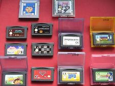 Nintendo GBA GAMES GAME BOY + ADVANCE- Select FROM BUNDLE RARE / COLLECTABLE
