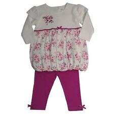 Baby Girls 2 Piece  Floral Longsleeve Top and Leggings Set