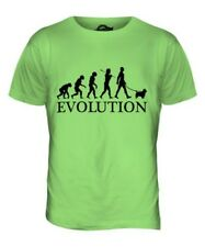 NORWICH TERRIER EVOLUTION OF MEN DA UOMO T-SHIRT MAGLIETTA AMANTI DEI CANI