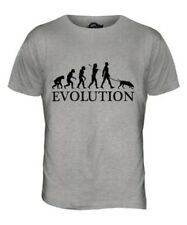 POINTER EVOLUTION OF MEN DA UOMO T-SHIRT MAGLIETTA AMANTI DEI CANI WALKER