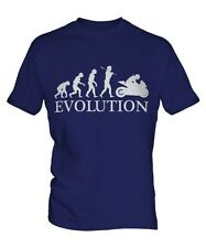 Moto da Corsa Evolution of Men da uomo t-shirt maglietta regalo biker