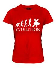 Foxtrot Baile Evolution Of Man Mujer Camiseta Top Regalo Ropa