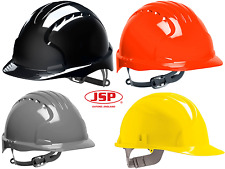 HARD HAT JSP EVO 3 Vented Safety Helmet Grey Orange Yellow Black AJF160-000-400