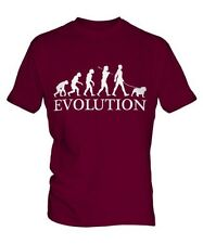 BULLDOG EVOLUTION OF MAN PARTE SUPERIOR EL HOMBRE CAMISETA TEE PERRO ENGLISH