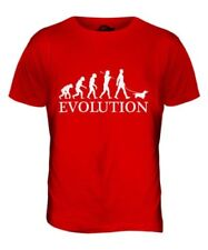 Teckel Evolution Of Man Camiseta Hombre Top Salchicha Perro Doxie Bassotto
