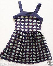 BNWT NEXT girls navy sunglasses print summer Party jersey sun Holiday dress