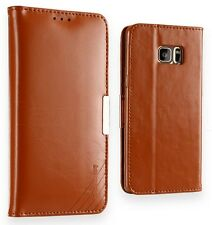 Samsung Galaxy Note 7 Fan Edition Premium Genuine Leather Wallet Case Cover New