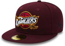 New Era NBA Team Classic Cleveland Cavaliers Cap 59fifty Basic Fitted Uomo Nuovo