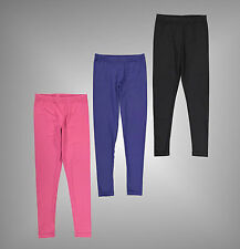 Junior Girls Branded Miso Everyday Stretchy Fabric Mini Leggings Size Age 7-13