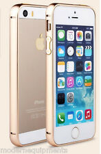 iPhone 5 5S Bumper Case Ultra Thin Aluminium Metal Frame Screw less Design