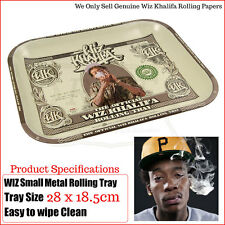 Wiz Khalifa Metal Rolling Tray - Size: 28cms x 18.5cms - Multi Listings