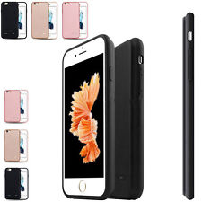 Externe Batterie Akku Backup Deckel Case Cover Power Pack für iPhone 6/6s Plus