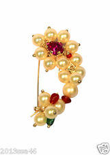 Marathi Nath Nose ring Maharashtrian of Pearl beads
