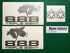 MARZOCCHI BOMBER ANGEL'S AND DEAMON'S 888 STICKER / DECAL SET
