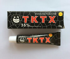 10/20/30/50/100g New TKTX 35% Anesthetic More Numbing 25min Fast Tattoo Cream
