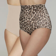 Your Secret Control High Waist Pants 1 Pair in Nude & 1 in Leopard Print