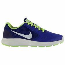 Nike Brand Mens Original Revolution 3 R.Blue Lime Running Shoes