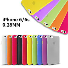 Cover custodia per iPhone 6 6s 4.7 ultra slim sottile PROTEZIONE TOTALE COLORATE