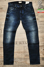 PEPE JEANS WICKERS W29 L32 SLIM NEW MENS STRETCH DARK BLUE 29 R FADE & WHISKERED