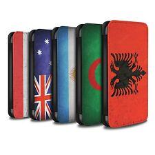 STUFF4 PU-Leder Hülle/Case/Tasche für Apple iPhone 7 Plus/Flagge