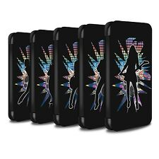 STUFF4 Coque/Etui/Case Cuir PU pour Apple iPhone 5/5S/Rock Star Pose