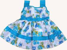 Designer fancy cotton baby frock for kids Girls dress clothing self- embroidered