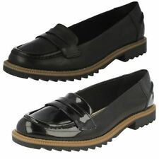 Clarks GRIFFIN MILLY DONNA PELLE SCARPE MOCASSINO