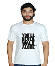 Prokyde You'll Never Walk Alone Black Plain Tshirt