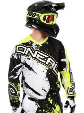 ONeal Black-Hi Viz 2017 Element Shocker MX Jersey
