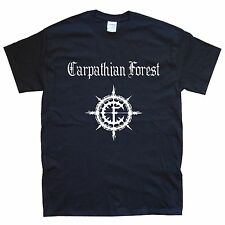 CARPATHIAN CAMISETA DEL BOSQUE tallas S M L XL XXL colores Negro, Blanco