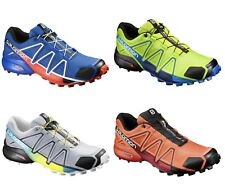 Scarpa Zapatos Trail Running SALOMON SPEEDCROSS 4 Blue Yonder Negro Lava Orange