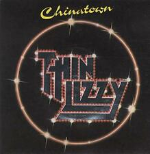 "Thin Lizzy Chinatown - Embossed Sleeve UK 7"" vinyl single record LIZZY6"