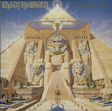 Powerslave - Glossy Sleeve Iron Maiden vinyl LP album record UK POWER1 EMI