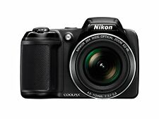 Nikon Coolpix L340 20.2MP Point And Shoot Digital Camera with 28x Optical Zoom