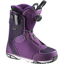 Chaussures Femme Snowboard Boot Woman SALOMON IVY BOA SJ Violet 2016