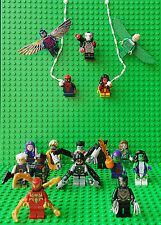 Superhero Super Heroes Minifigures Fits Lego - Loads to Pick From Superheroes