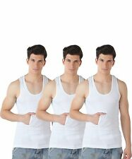 TT White Vest (Pack Of 3) For Men - 100% Cotton