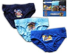 Paw Patrol Boys Briefs Pants Knickers  3 Pack 18-24 Months to 4-5 Years 24917