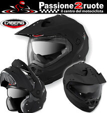 Helm Caberg Tourmax mate black casco modular enduro motard berlina touring moto