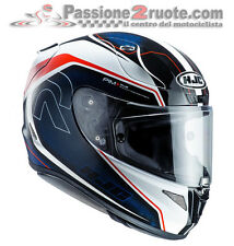casque Hjc Rpha11 Rpha 11 Darter mc21 blanc rouge bleu moto integral