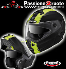 Casco helmet Casco capacete helm Caberg Duke Legend black amarillo